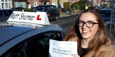 Best Driving Lessons Near Me Welling   Hannah M