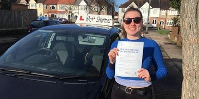 Best Driving Lessons Swanley | Bryony W