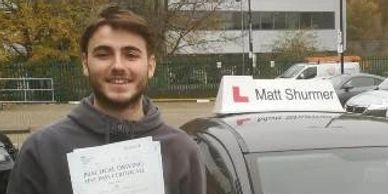 Driving Instructors Swanley | Sami H