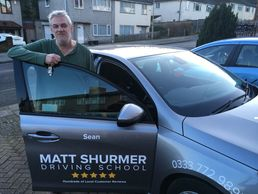Sean Rumley Automatic Driving Instructor