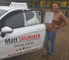 Lady Driving Instructor Swanley
