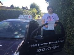 Driving Instruction Sidcup Callum R
