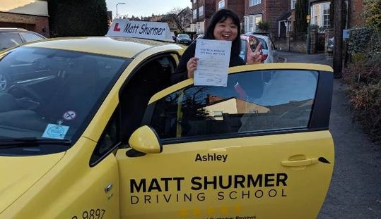 Learning Driving Lessons Swanley