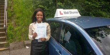 Automatic Driving Lesson Bromley Mariam S