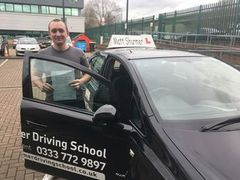 Nervous Learner Driver Swanley Miles T