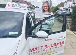 Woman Driving Instructor Swanley