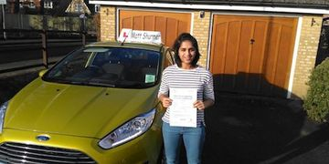 Price Of Driving Lessons UK Swanley Yasmine J