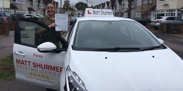 Woman Driving Instructor Sidcup