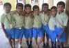 Boys during a break in the school day. The only HOPE boy is Yesubabu (8) in the middle. 2014