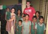 Sister Sarah and Brother Josh are with the little children of HOPE in 2012.