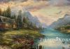 """A Father's Perfect Day"" by Thomas Kinkade Studios"