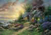 """Seaside Hideaway"" by Thomas Kinkade"