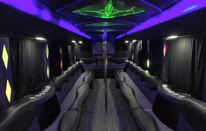 Our Big Momma Party Bus is the best way to travel in luxury to Prom!