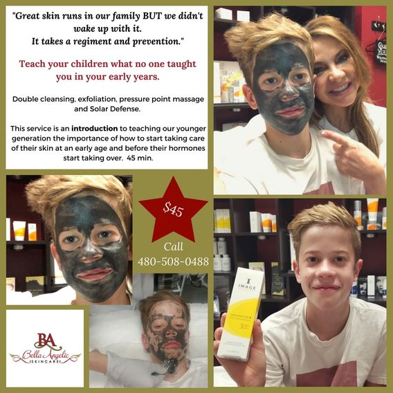 An introduction to skin care teaching the younger generation early!