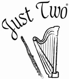 Just Two Flute and Harp Duo
