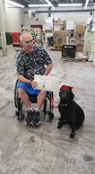 Service dog, assist, detection, seisure, dissabilty, dog assist, certification, id tag, ADA, federal