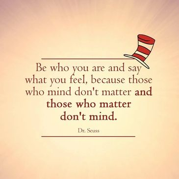 Dr Seuss Quote Matter and Mind