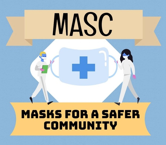 Masks for A Safer Community