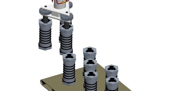 3D model of lifting device