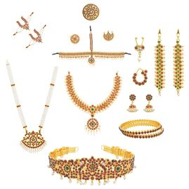 Bharatanatyam Jewelry for Sale/Rent in NJ. Edison-Jersey City- Journal Sq.