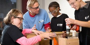 Kids Making It, woodworking, youth, Castle Street, Wilmington