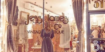 jess james, style girl, vintage, consignment, castle street, wilmington