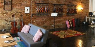 Ronald Sachs Violin shop, violins, violas, cellos, musical instruments, rental, Wilmington