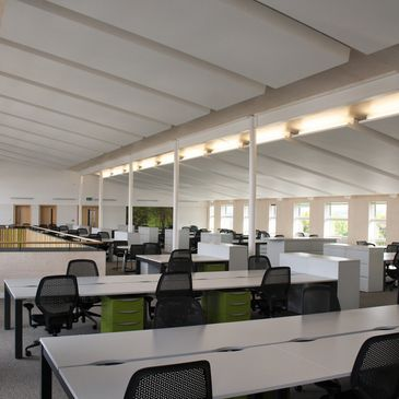 Finished Bespoke energy efficient office enviroment