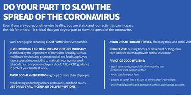 "<img alt=""Do these 5 steps all the time. PDF. Do your part to slow the spread coronavirus"">"