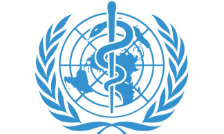 logo of Press Briefings from the WHO World Health Organization, stay up to date with trustworthy