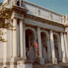 Connecticut State Library Front of Building