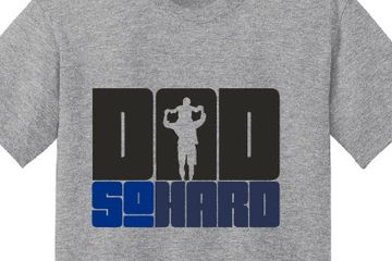 Dad So Hard T-shirt.  Extra Large Tshirt Dad gifts. Father's Day