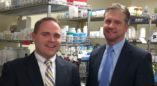 COO, Bryan Lentini, PharmD and CEO, Scott Wolak, RPh
