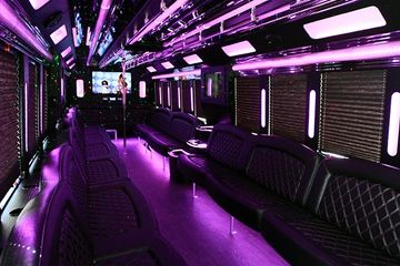 Denver Limo Party Bus