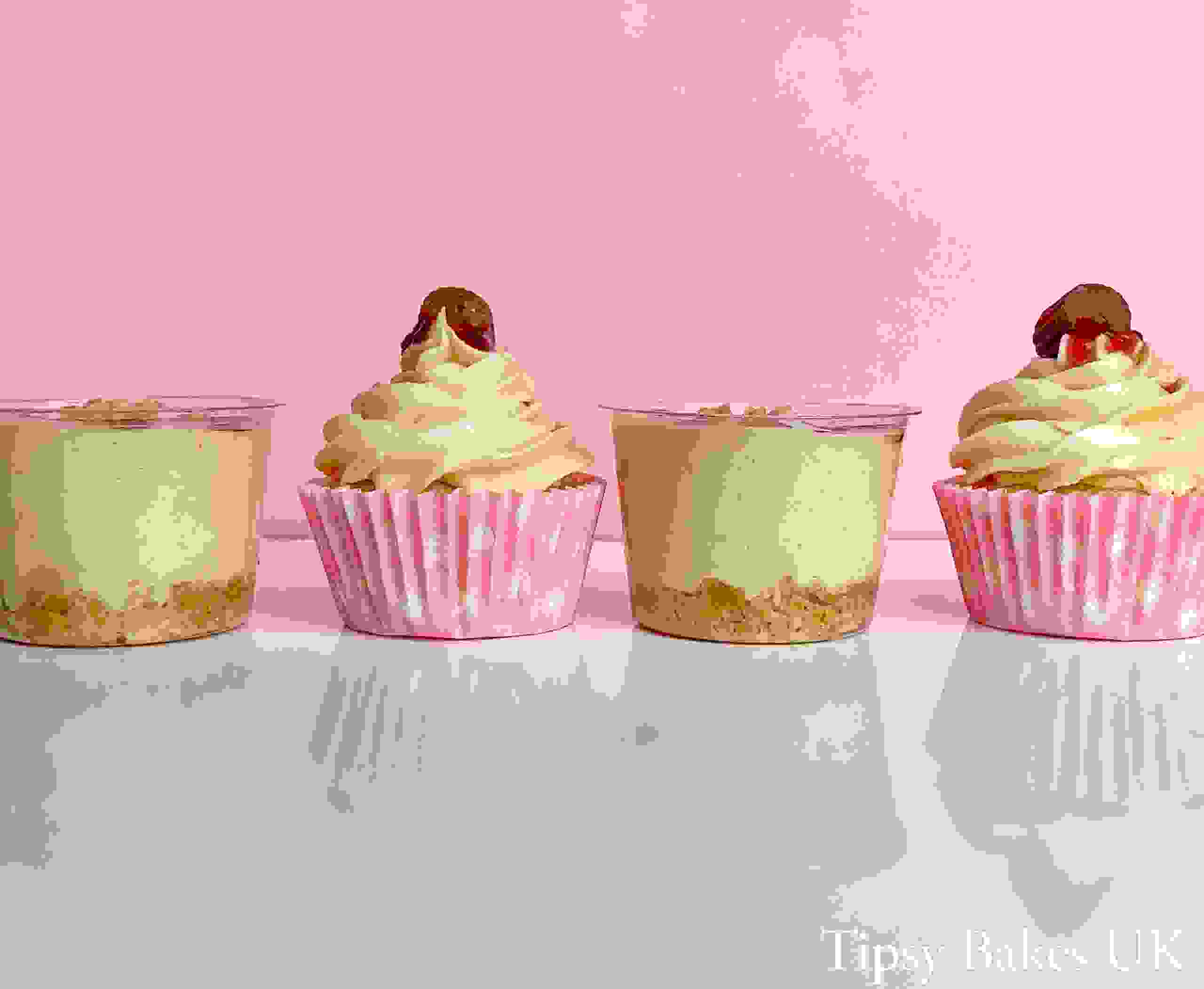 Tipsy Bakes UK, alcoholic cupcakes and cheesecakes, Bradford