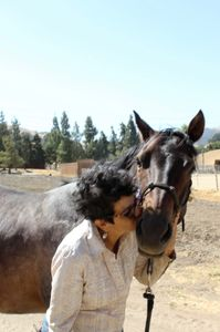 Sissy Cortez & her Horse Rusty