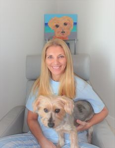 Psychologist in California.  Chicken the dog.   Virtual coaching worldwide.
