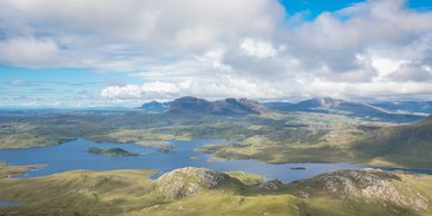Assynt with it's wide open spaces