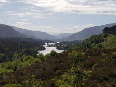 View of Glen Affric looking West