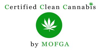MC3 logo, Maine Organic Farmer and Gardener's Association MOFGA certified clean cannabis LoveGrown