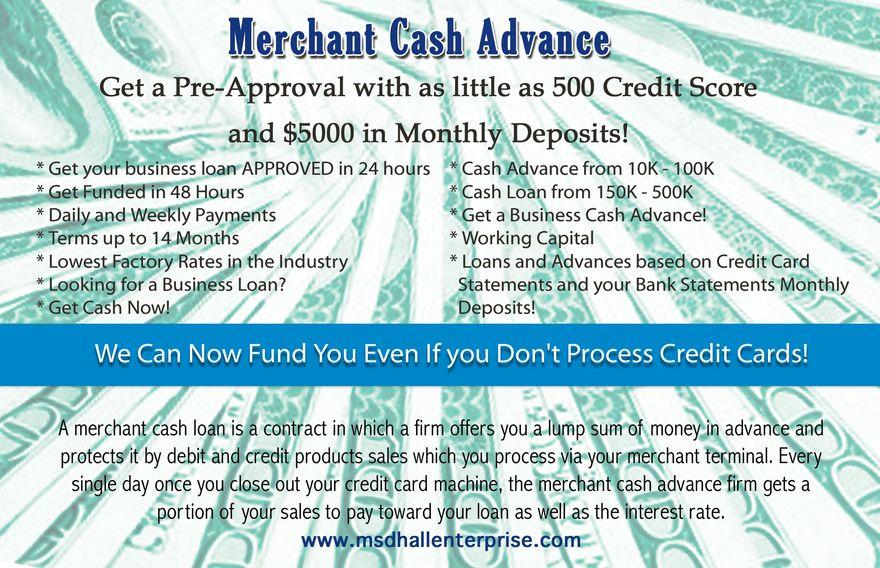 Cash Advance For 10k