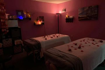Romance Package: adds candlelight, rose petals and aromatherapy
