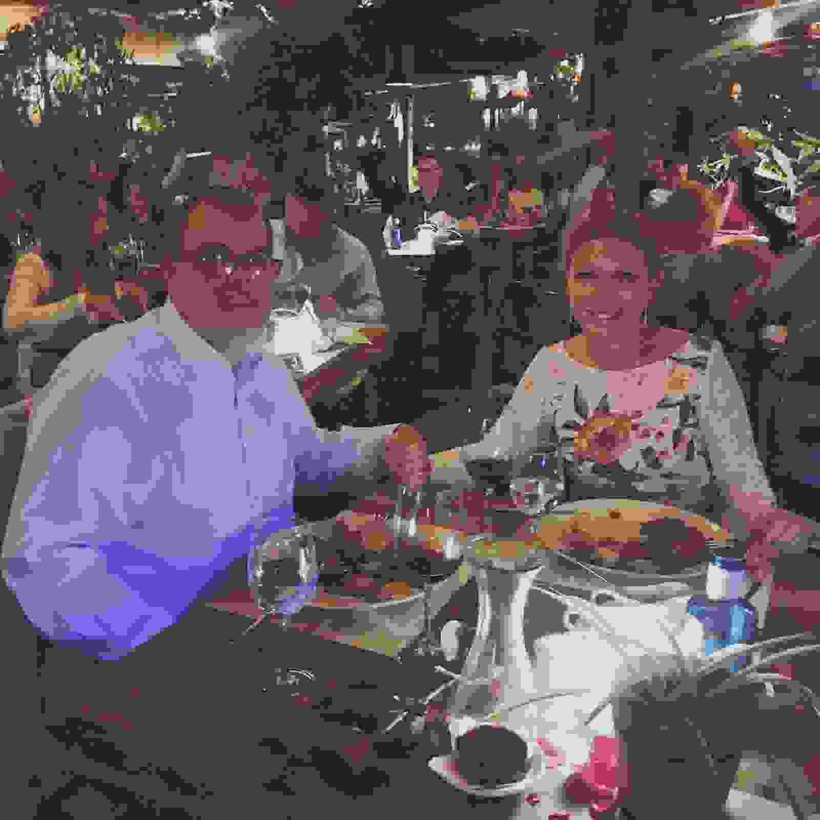 Dining in tenerife at our favourite restaurant