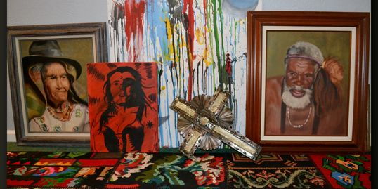 Misc artworks, The Conner House BnB, 315 Main, Prairie du Rocher, IL 62277  near Fort de Chartres