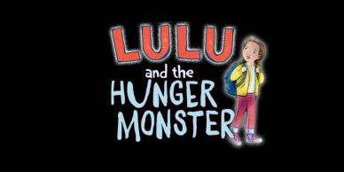 LOGO FOR THE BOOK, LULU AND THE HUNGER MONSTER