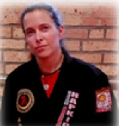 Meghan Ventura Hapkido and Guazabara Black Belt
