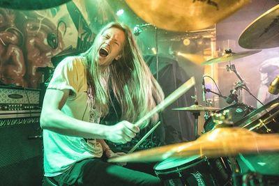 Rasmus Kjær - Drums