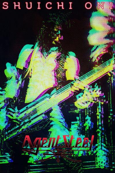 Who is Shuichi Oni, bassist of Agent Steel? 🤔