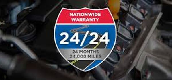 TechNet 24/24 Nationwide Warranty on most all auto repairs.  From engines to brakes and more.