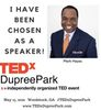 Mark Hayes has been selected to grace the TedX Dupree Park stage. What an honor.
